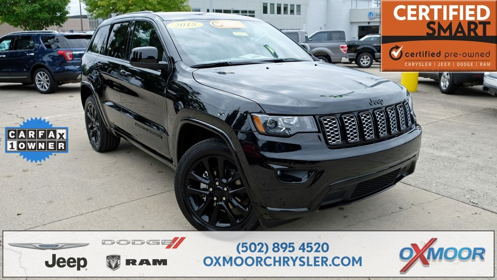 Superb Certified Pre Owned 2018 Jeep Grand Cherokee Altitude