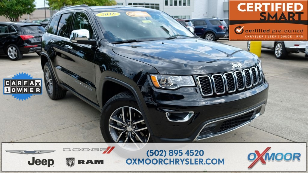 Exceptional Certified Pre Owned 2018 Jeep Grand Cherokee Limited
