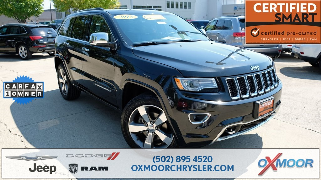 Certified Pre Owned 2015 Jeep Grand Cherokee Overland