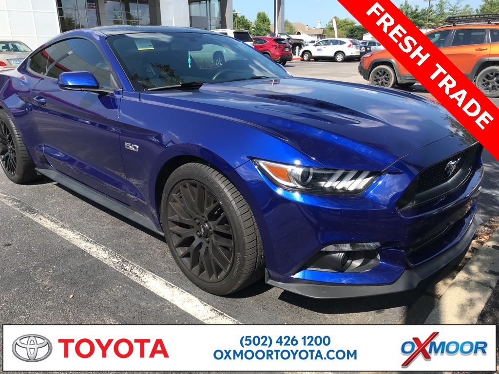 Pre owned 2016 ford mustang gt rwd 2d coupe