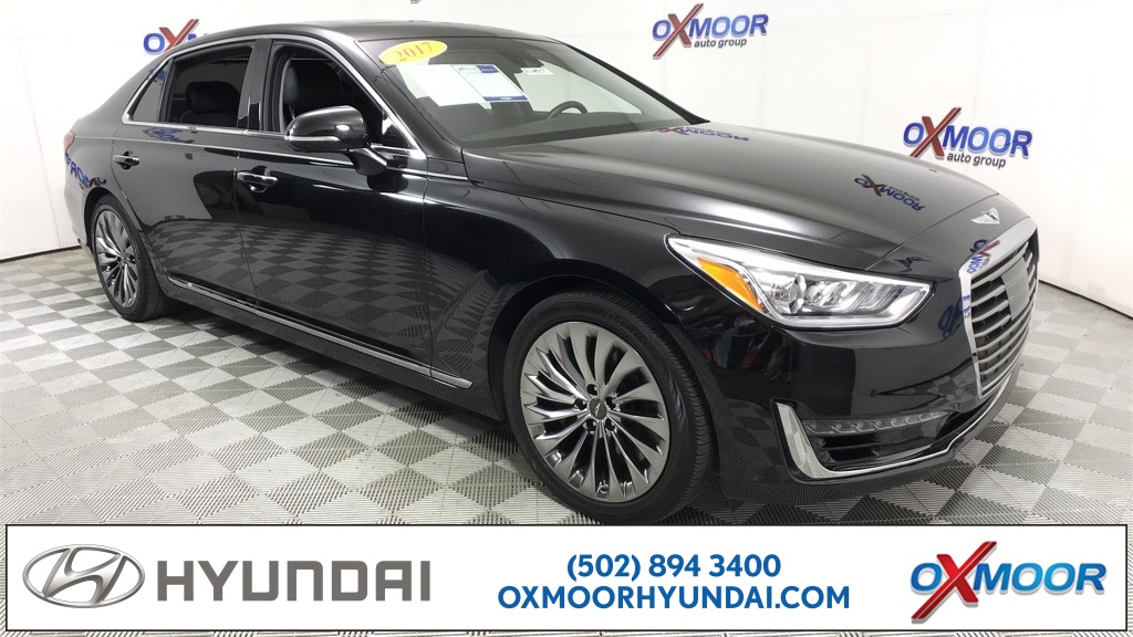 Used 2017 Genesis G90 5 0 Ultimate 4d Sedan In Louisville Hu4907